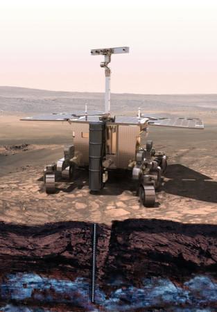 ExoMars rover (Foto: ESA)