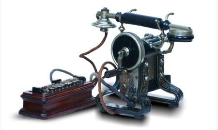 Telefon Deckert-Homolka iz 1910.