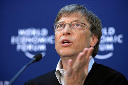 Pres konferencija Bil Gejtsa na Svetskom ekonomskom forumu u Davosu - swiss-image.ch/Fotografija: Andy Mettler