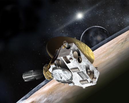 New Horizons - umetnički prikaz