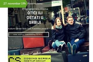 Otići ili ostati u Srbiji