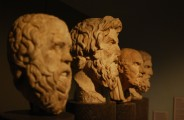 Biste grčkih filozofa - Skorata, Antistena, Hrisipa i Epikura (Foto: Wikipedia)