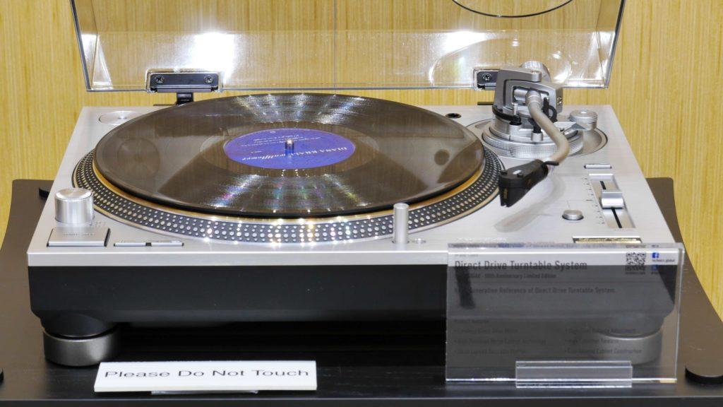 Panasonic Technics gramofon