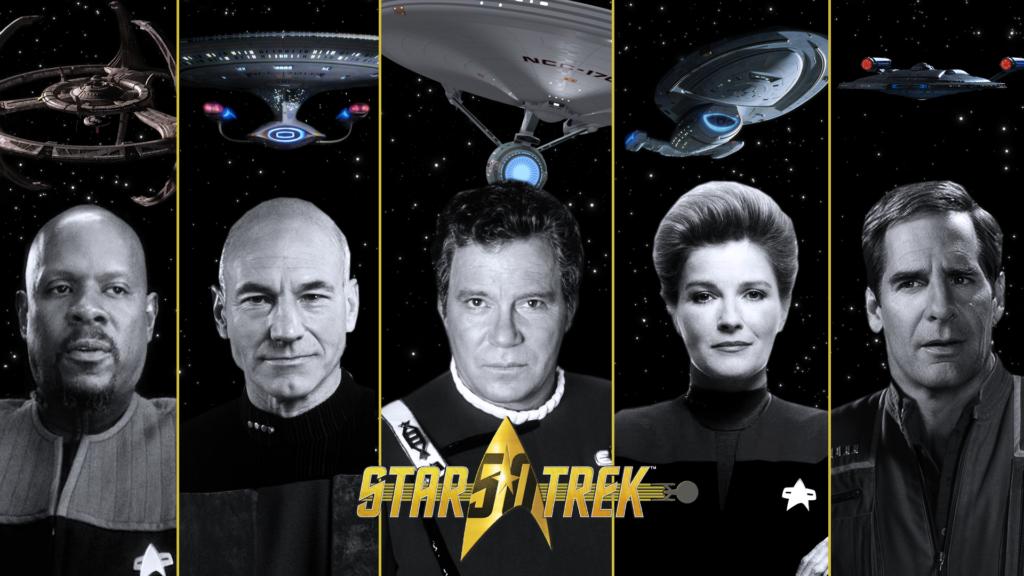 Pet kapetana iz pet serija