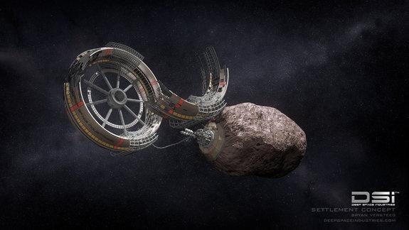 Rudnik na asteroidu i izgradnja svemirske stanice