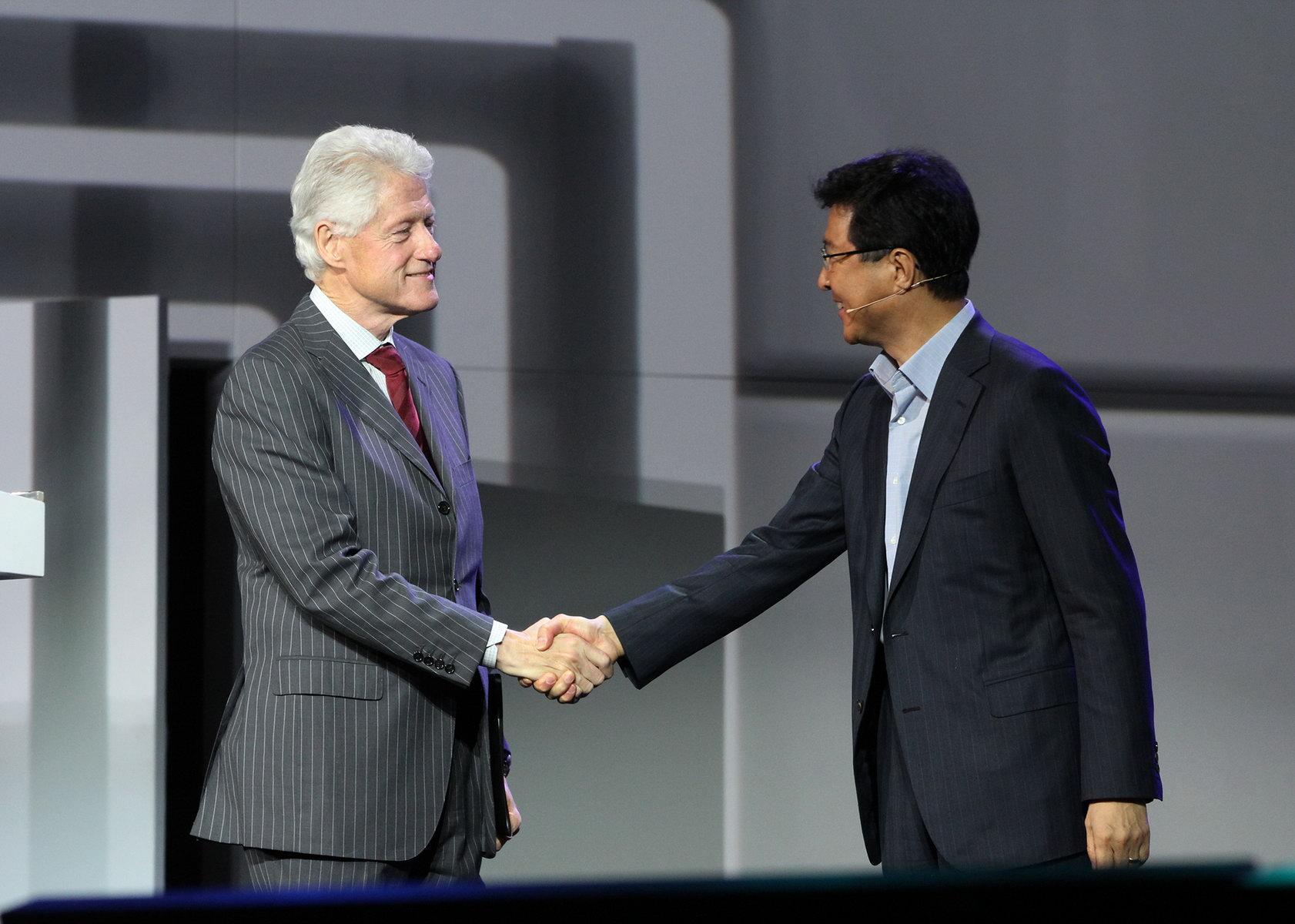 U Las Vegasu se obreo i Bil Klinton (Foto: CES)