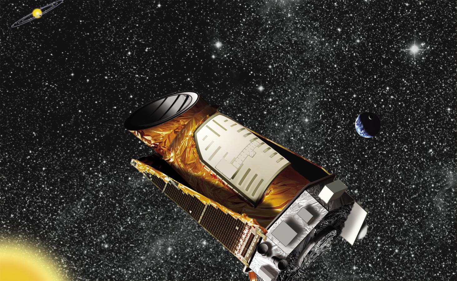 Teleskop Kepler - umetnički prikaz