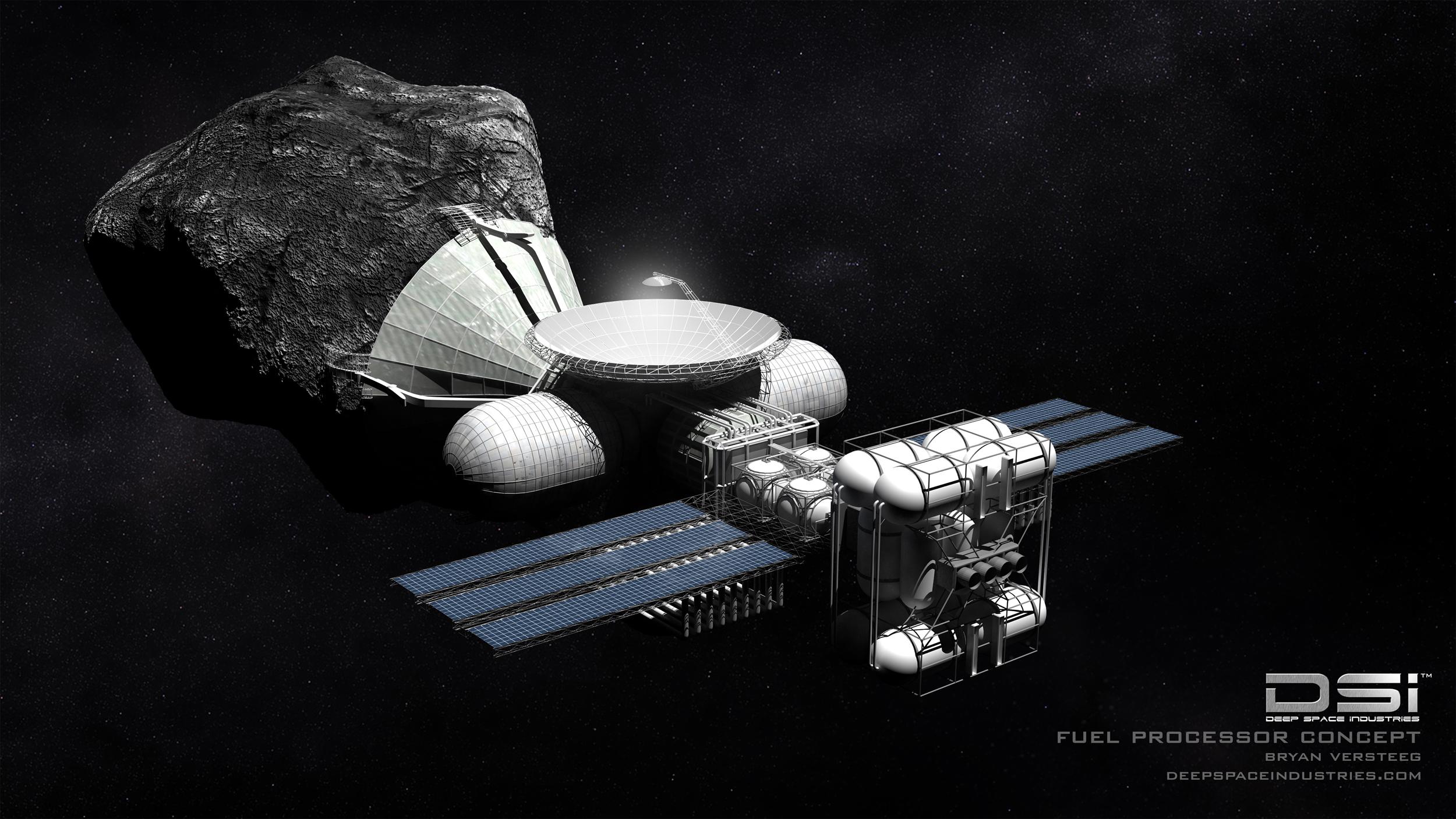 Prikupljanje goriva sa asteroida