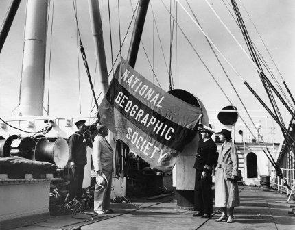 Fotografije jedne od prvih ekspedicija organizovanih pod okriljem Društva (Foto: J. Baylor Roberts)