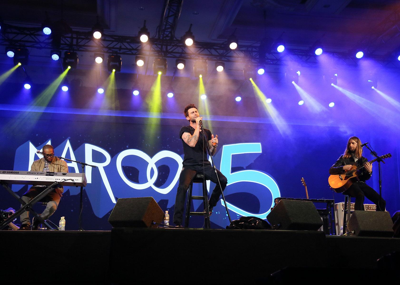 Nastup grupe Maroon 5 (Foto: CES)