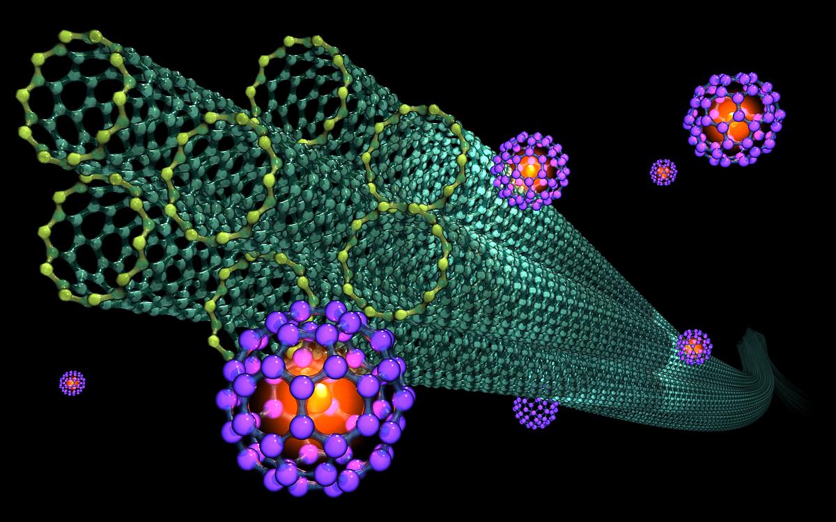 Karbonske nanocevi - 3D grafički prikaz