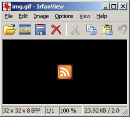 GIF fajl sa dodatnim bekdorom