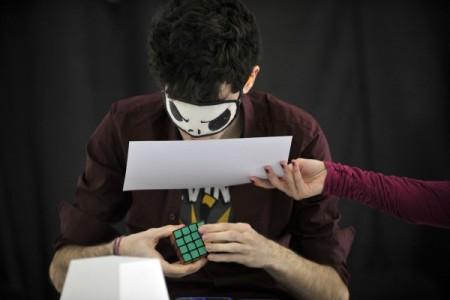 Slaganje Rubikove kocke zatvorenih očiju (Foto: CPN)