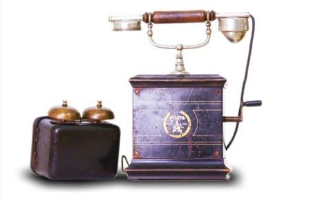 Telefon Osterelektrizitats D&H iz 1925.