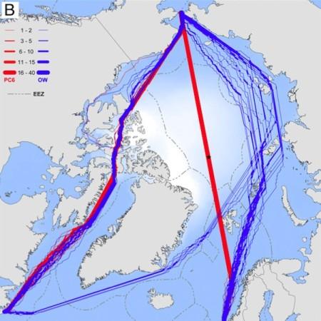 Mapa Arktika (Slika: PNAS/Smith and Stephenson)