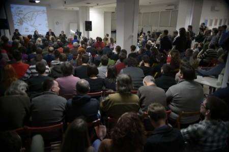 """Tribina """"Ko je prvi došao na Balkan?"""" - Foto: Centar za promociju nauke"""