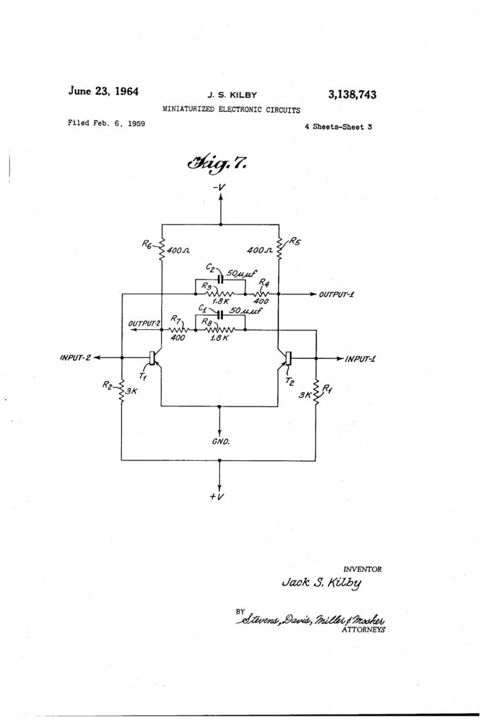 Stranica iz patentnog rešenja