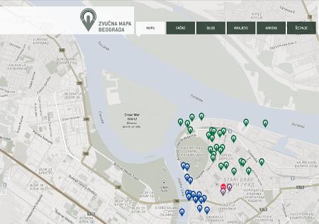 Zvucna mapa Beograda