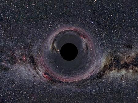 Galaktička crna rupa