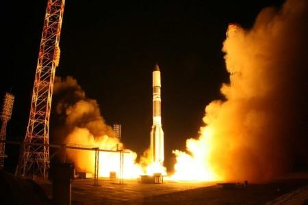 Lansiranje rakete Proton-M sa satelitom Astra 2E - septembar 2013.