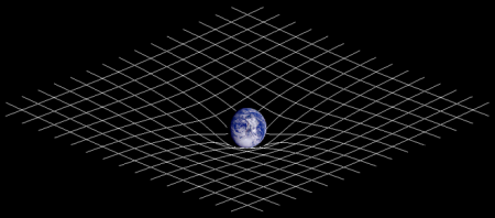 Zakrivljenje prostora i vremena u gravitacionom polju Zemlje