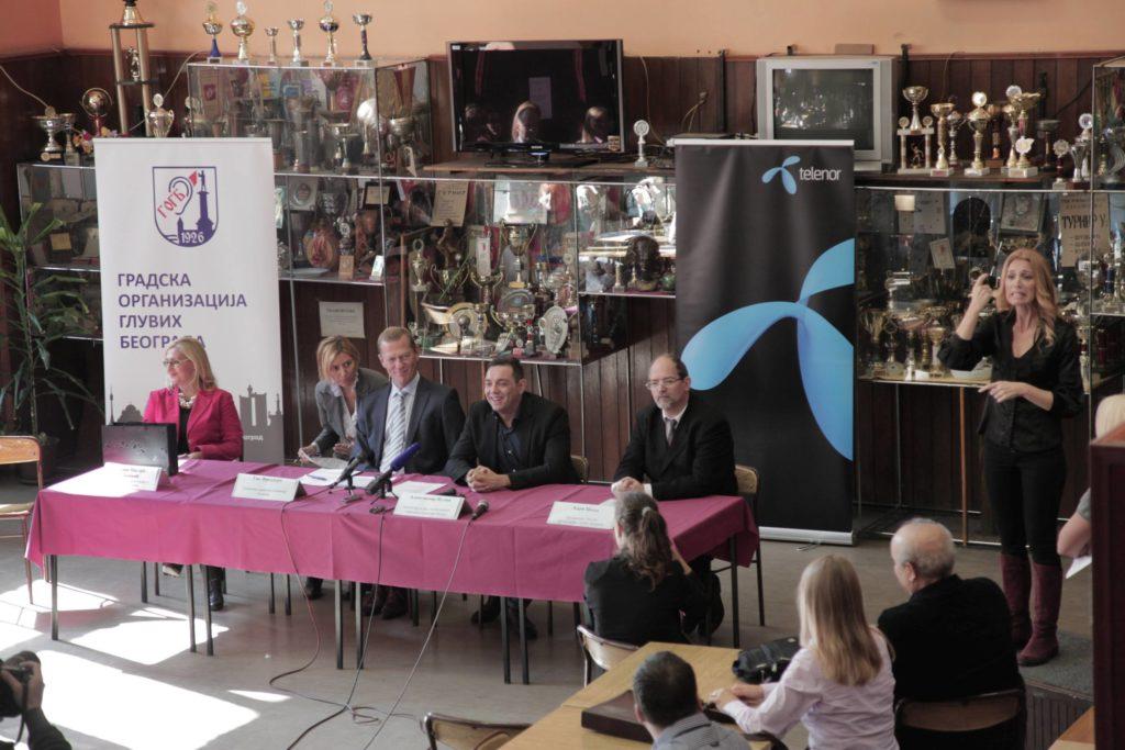 Telecentar press konferencija