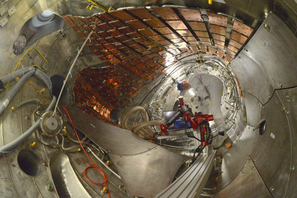Unutrašnjost Wendelstein 7-X reaktora