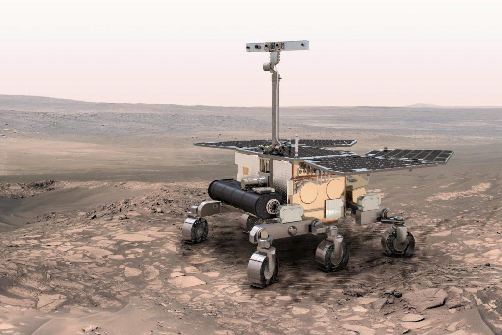 ESA Exomars robot