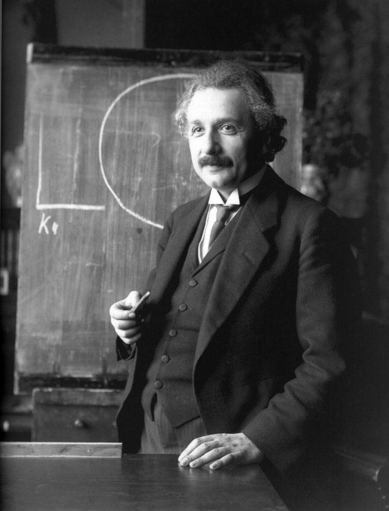Fotografija Alberta Ajnštajna iz 1921.