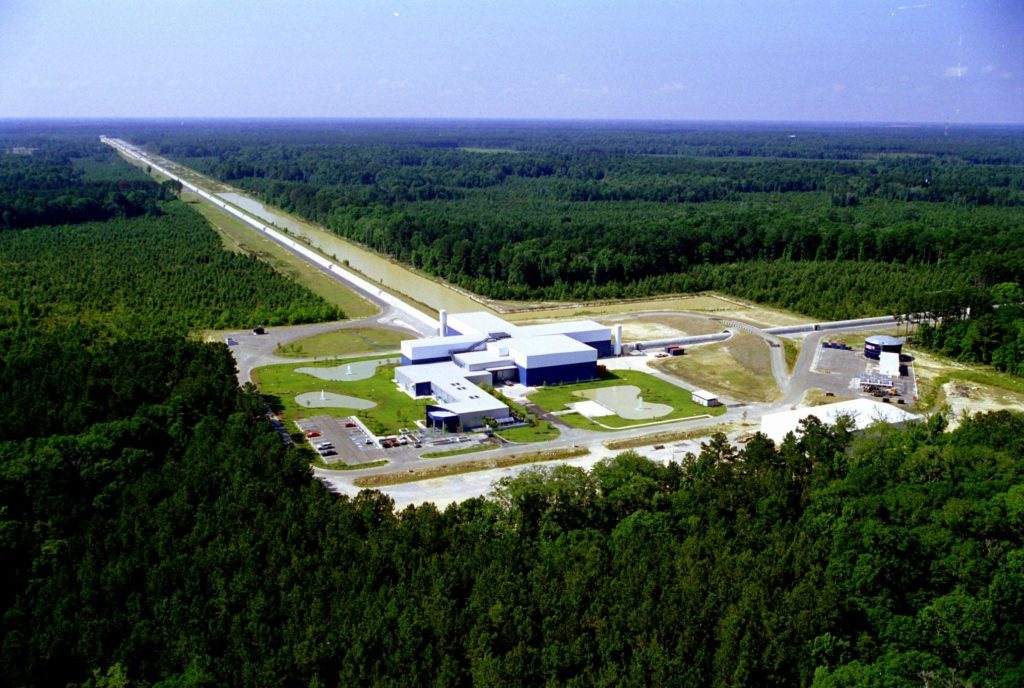 LIGO detektor u Livingstonu
