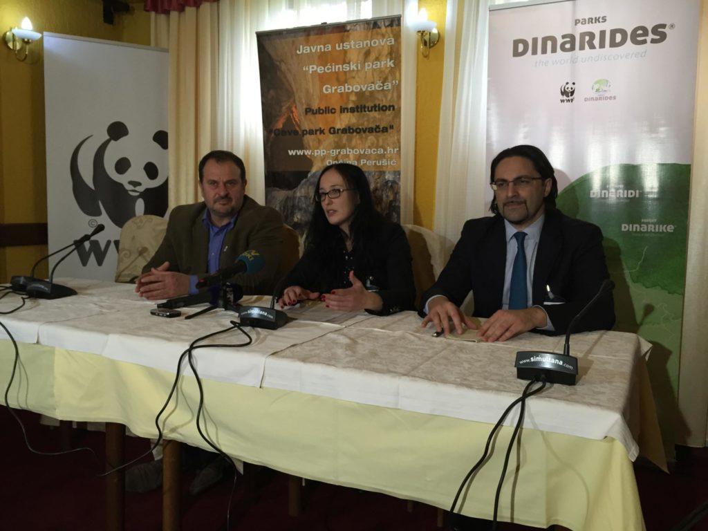 Konferencija za medije (Foto: WWF Adria)