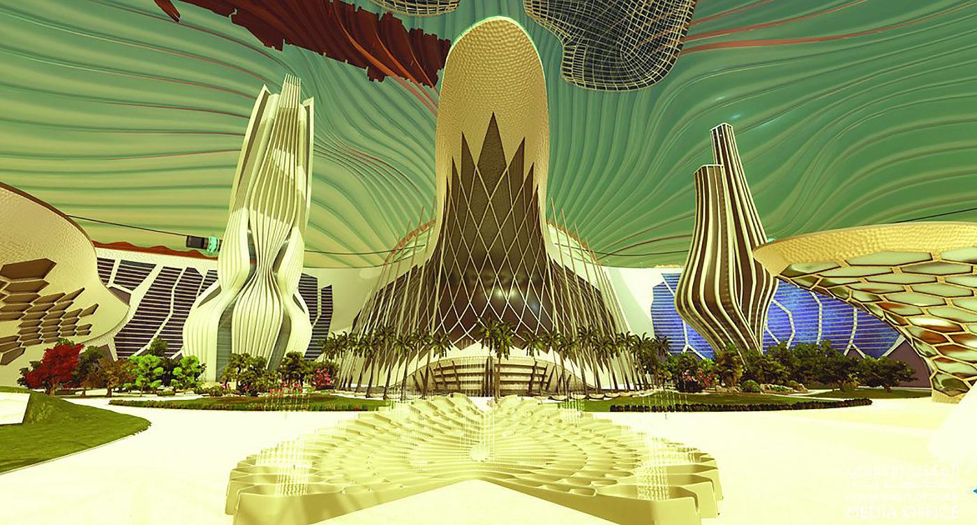 Mars-City-Architecture